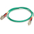 Cables To Go Fiber Optic Duplex Patch Cable - 16.4 ft - Green