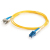 Cables To Go Fiber Optic Duplex Patch Cable - Plenum - 9.84ft - Yellow