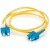 Cables To Go Fiber Optic Duplex Patch Cable - Plenum-Rated - 16.4ft - Yellow