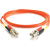 Cables To Go Fiber Optic Duplex Patch Cable - 6.56 ft - Orange
