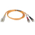 Tripp Lite Fiber Optic Patch Cable - 2 x LC to 2 x SC - 32.81ft