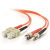Cables To Go Fiber Optic Duplex Patch Cable (SC/ST) 23 ft