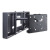 Peerless Flat Panel Pull-out Swivel Wall Mount