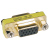 Tripp Lite Compact Gold Gender Changer  HD15F/F