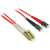 Cables To Go Fiber Optic Duplex Patch Cable (LC/ST) 3.28 ft - Red