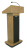 Amplivox S505 Executive Sound Column Lectern (Oak)