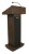 Amplivox S505 Executive Sound Column Lectern (Walnut)