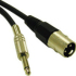 Cables To Go Pro-Audio Cable (XLR M to  Audio M) 3 ft