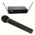 Amplivox S1660 Wireless UHF Handheld Mic Kit Built-In Transmitter 8 Channels