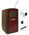 AmpliVox SW3250 Pinnacle Lectern with Wireless Sound (Mahogany)