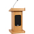 Anchor FL-7500 Admiral Floor Lectern for Liberty Platinum or Explorer Pro Portable Sound Systems