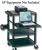 Quartet Duracart Multimedia Projector Cart with Laptop Shelf