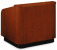 Oklahoma Sound 910 Wood Veneer Tabletop Lectern Walnut on Cherry (Shown in Cherry on Cherry)