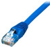 Comprehensive Cat6 550 MHz Snagless Patch Cable UTP RJ-45 to RJ-45, 7ft, Blue