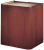 Oklahoma Sound 901 Wood Veneer Lectern Base Walnut on Cherry (Shown in Cherry on Cherry)