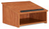 Oklahoma Sound 22 Table Top Lectern Non Sound  Wild Cherry
