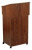 Oklahoma Sound 112 Combo Lectern Base-A/V Cart - Walnut