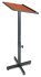 Oklahoma Sound 70 Portable Adjustable Height Presentation Lectern Non Sound  Wild Cherry