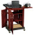 Oklahoma Sound SCL Smart Cart Computer Laptop Lectern - Mahogany