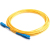 Cables To Go Fiber Optic Simplex Patch Cable, SC/SC, 6.56ft, Yellow