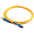 Cables To Go Fiber Optic Simplex Patch Cable LC/ST, 16.4 ft, Yellow