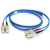 Cables To Go Fiber Optic Duplex Patch Cable SC/SC 3.28ft Blue