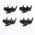 Shure RK241DB 4-Pack Dual Mount Tie Clips For Shure 838/839/SM83/SM84 Microphones