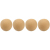 Shure RPM318 4-Pack PopperStopper Snap-Fit Foam Windscreens For BETA54 (Tan)