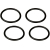 Shure RPM642 Replacement Elastic Bands for SM27 Shock Mount (4 Count)
