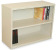 Marvel MSB236-UT Steel Bookcase with Shelf Adjustable (Pumice Color)