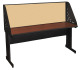 Marvel PRCM0043-DT8561 Library Carrel with Modesty Panel 72