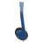 Avid Education AE-711BLUE Personal Headphones - Adjustable Headband - Blue