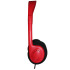 Avid Education AE-711RED Personal Headphones - Adjustable Headband - Red