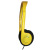 Avid Education AE-711YELLOW Personal Headphones - Adjustable Headband - Yellow