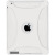 Amzer 90791 Silicone Skin Jelly Case - Transparent White for Apple iPad 2