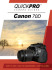 Quickpro DVD Guide For Canon 70D
