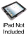 Dukane 185-3 Heavy Duty Case for iPad 2/3/4 with Screen Protector