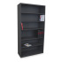 Marvel UTBC8042/BK Heavy Duty 6 Shelf Cabinet - Adjustable - Black