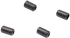 Shure RPM234 Replacement +4dB Cap for WCE6B and WCB6B (Black) (4-Pack)
