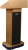 AmpliVox Sound Systems SW505 Wireless Executive Sound Column Lectern (Choice of WIreless Mic with Transmitter)