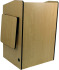 AmpliVox Sound Systems SN3235-MP Wireless Multimedia Presentation Podium (Maple)