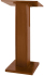 AmpliVox Sound Systems W355-MH Elite Pedestal Lectern (Mahogany)