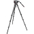 Manfrotto Pro Single CF Kit - 536 Carbon Fiber Tripod with 509HD Video Head and Padded Carrying Bag
