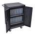 Luxor LLTP24-B 24 Slot Laptop Charging Cart