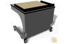 Spectrum 55368FMS Freedom One Lectern Fusion Maple / Silver
