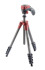 Manfrotto Compact Action Aluminum Tripod - Red