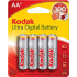 Kodak Ultra Premium Alk Battery AA 4Pack