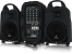 Behringer EUROPORT PPA500BT Ultra-Compact 500-Watt 6-Channel Portable PA System