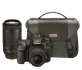 Nikon D7500 Dual Zoom Lens Kit with 18-55mmVR and 70-300mmVR and Bag