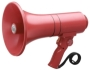 Handheld Megaphone with Siren, Red
